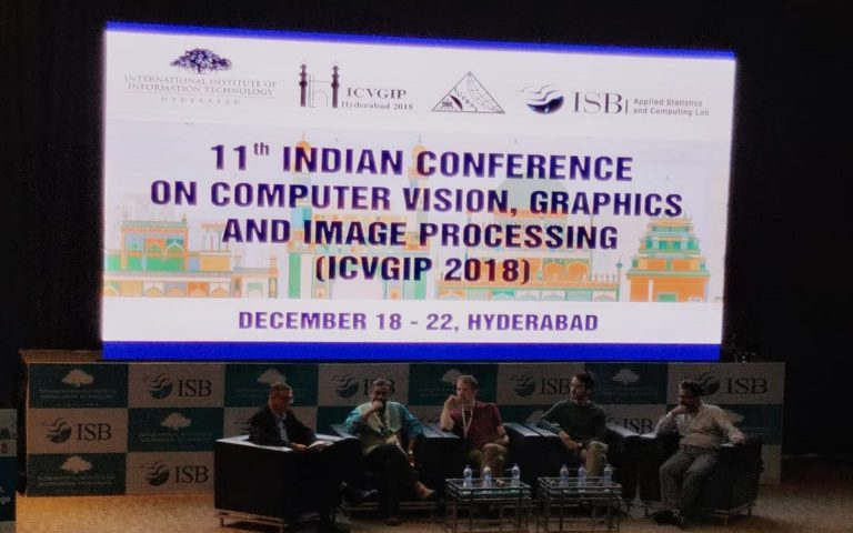 KritiKal Solutions Marks its Presence at ICVGIP 2018