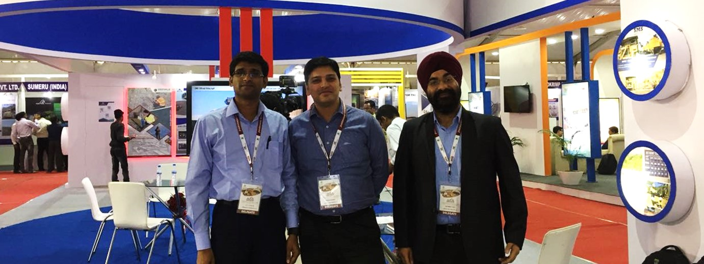 KritiKal Solutions at the Jharkhand Mining Show 2017