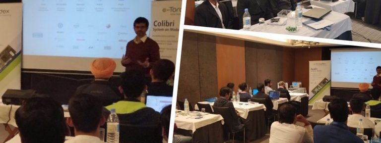 KritiKal Conducts Technology Workshop with Toradex